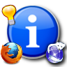 tips, information, and software icon